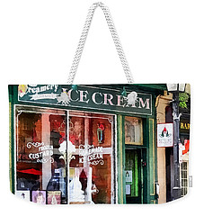 Alexandria Va - Ice Cream Parlor Weekender Tote Bag