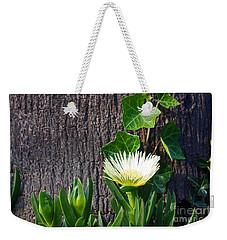 Ice Flower With Vine Weekender Tote Bag