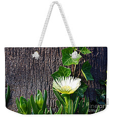 Ice Flower With Vine Weekender Tote Bag