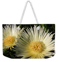Ice Flowers Weekender Tote Bag