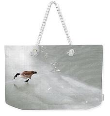 Ice Goose Weekender Tote Bag