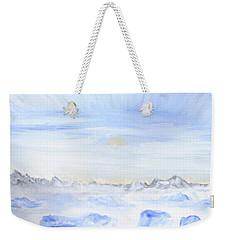 Ice Movement Weekender Tote Bag