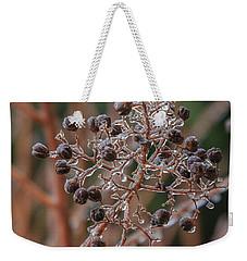 Ice On Berries Weekender Tote Bag