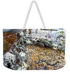 Ice Ornaments Weekender Tote Bag