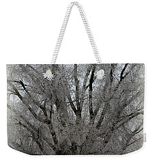 Ice Sculpture Weekender Tote Bag