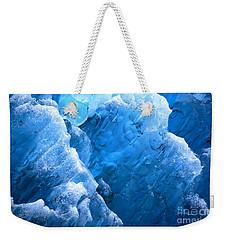 Iceberg Blues Weekender Tote Bag