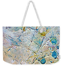 Iced Texture I Weekender Tote Bag by Phyllis Howard