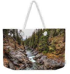 Icicle Gorge Weekender Tote Bag