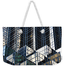 Icicle  Weekender Tote Bag by Menachem Ganon