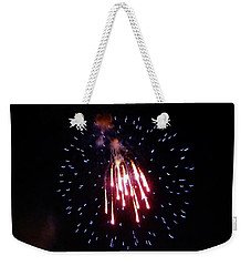 Weekender Tote Bag featuring the photograph Icicles by Amar Sheow