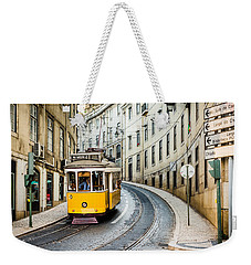 Iconic Lisbon Streetcar No. 28 IIi Weekender Tote Bag