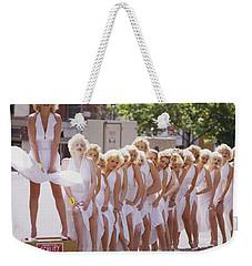 Iconic Marilyn Weekender Tote Bag by Shaun Higson