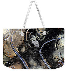 Icy Bubbles Weekender Tote Bag