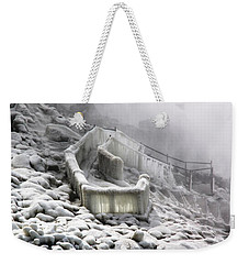 Icy Path Way Weekender Tote Bag