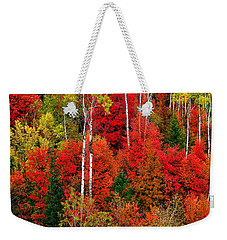 Idaho Autumn Weekender Tote Bag