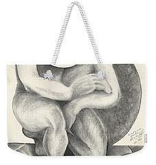 Identity Crisis Weekender Tote Bag by Melinda Dare Benfield