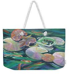 Idyllic Lilypads Weekender Tote Bag