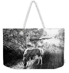 If There's A Heaven... Weekender Tote Bag by Janine Riley