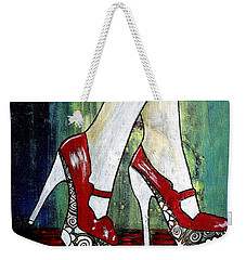 If You Walked In My Shoes Weekender Tote Bag