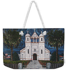 Iglesia Curridabat  Costa Rica Weekender Tote Bag