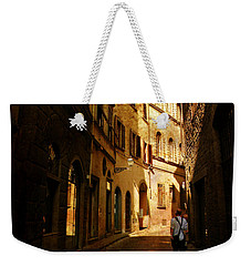 Il Turista Weekender Tote Bag by Micki Findlay