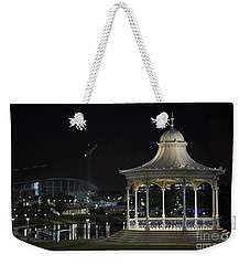 Illuminated Elegance Weekender Tote Bag