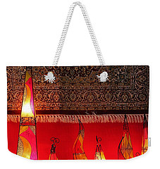 Illuminated Lights Weekender Tote Bag