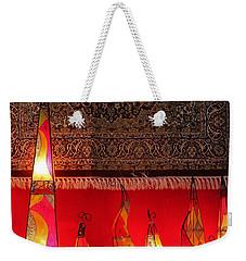 Illuminated Lights Weekender Tote Bag