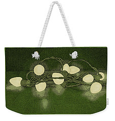 Weekender Tote Bag featuring the drawing Illumination Variation #1 by Meg Shearer