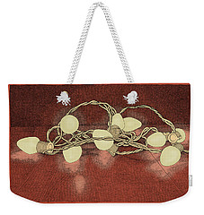 Weekender Tote Bag featuring the drawing Illumination Variation #2 by Meg Shearer