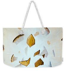 Weekender Tote Bag featuring the painting Illuminator by Mariusz Zawadzki