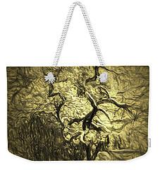 Illusion Tree Weekender Tote Bag