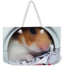 I'm Keeping My Eye On You Weekender Tote Bag by Vicki Spindler