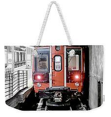 I'm Leaving On A Train Weekender Tote Bag