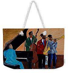 Im Moving On Weekender Tote Bag by Barbara McMahon
