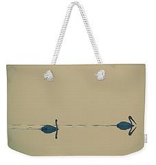 I'm Sailing Right Behind Weekender Tote Bag