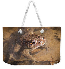 Weekender Tote Bag featuring the photograph I'm Watching You by Todd Blanchard