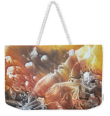 Weekender Tote Bag featuring the painting Imagination 2 by Vesna Martinjak