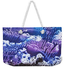 Weekender Tote Bag featuring the painting Imagination 3 by Vesna Martinjak
