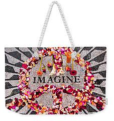 Imagine Weekender Tote Bag by Gary Slawsky