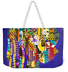 Weekender Tote Bag featuring the tapestry - textile Imani by Apanaki Temitayo M