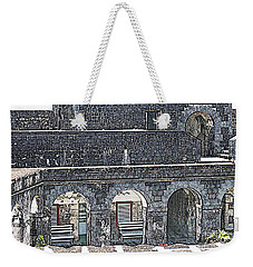 Fort Brimstone, St Kitts/nevis Weekender Tote Bag