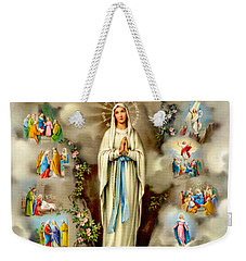 Immaculate Conception Weekender Tote Bag by Munir Alawi