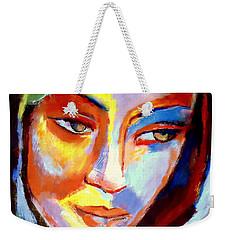 Weekender Tote Bag featuring the painting Immersed by Helena Wierzbicki