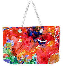 Imminent Disintegration Weekender Tote Bag by Beverley Harper Tinsley