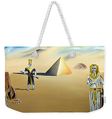 Weekender Tote Bag featuring the painting Immortality by Ryan Demaree