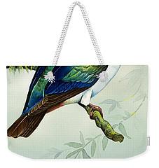 Imperial Fruit Pigeon Weekender Tote Bag by Bert Illoss