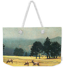 Impression Evergreen Colorado Weekender Tote Bag