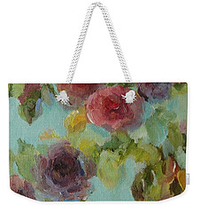 Impressionist Floral  Weekender Tote Bag