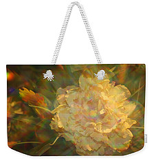 Weekender Tote Bag featuring the photograph Impressionistic Rose by Dora Sofia Caputo Photographic Art and Design